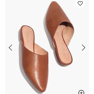 Madewell Remi Mules Slides 6 English Saddle